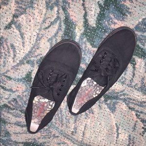 Target Black Sneakers